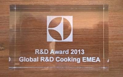 iwa gewinnt den R&D Award von Electrolux